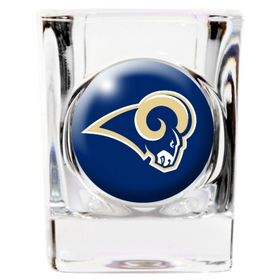 St. Louis Rams Shot Glass - UPC 825008277885