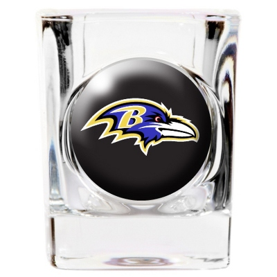 Baltimore Ravens Shot Glass - Sports Gifts