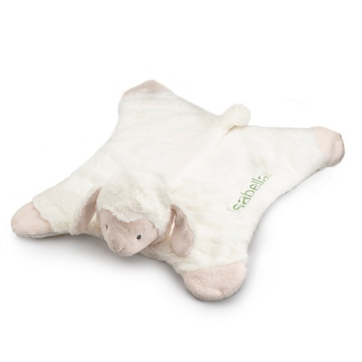 Personalized Gund Lamb Comfy Cozy Blanket