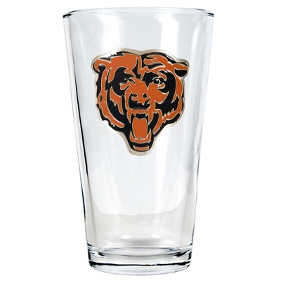 Chicago Bears Pint Glass - Flasks & Beer Mugs