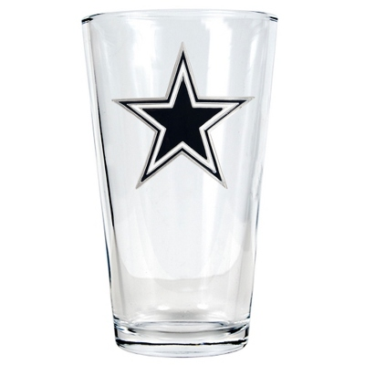Dallas Cowboys Pint Glass - UPC 825008278882