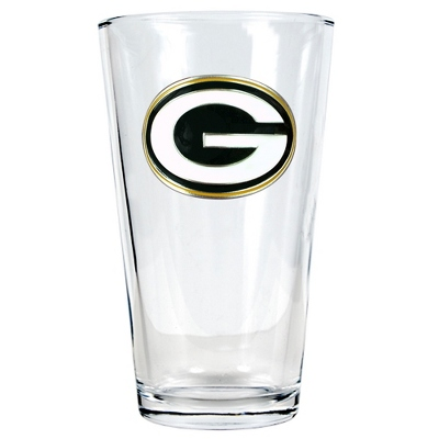 Green Bay Packers Pint Glass - UPC 825008278899