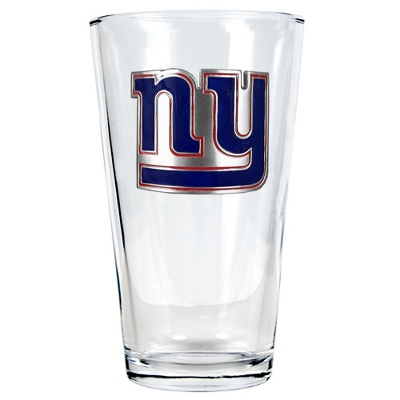 New York Giants Pint Glass - UPC 825008278929