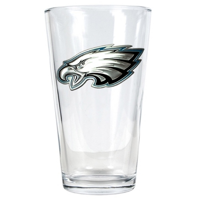 Philadelphia Eagles Pint Glass - Flasks & Beer Mugs