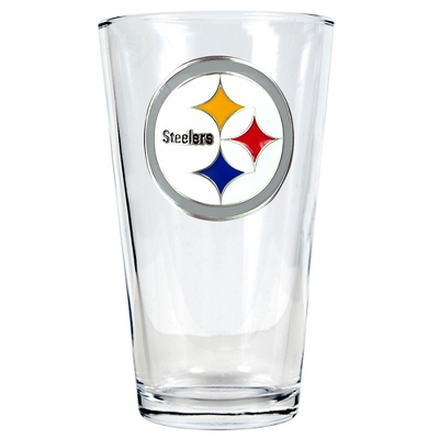 Pittsburgh Steelers Pint Glass - UPC 825008278943