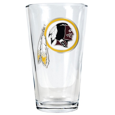Washington Redskins Pint Glass - Flasks & Beer Mugs