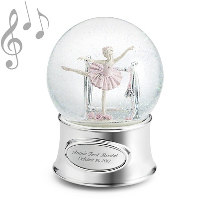Personalized Birthday Water Globes with Music - 24 products