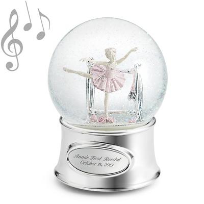 Ballerina Musical Snow Globe