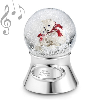 2012 Make-A-Wish Polar Bear Water Globe