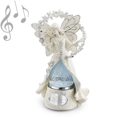 2012 Make-A-Wish Fairy Water Globe - Water Globes for Her