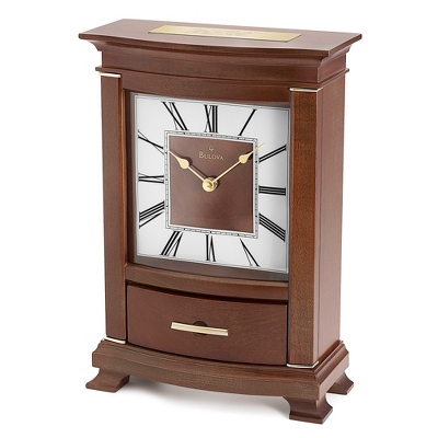 Bulova Tamarand Mantel Clock - Home Clocks