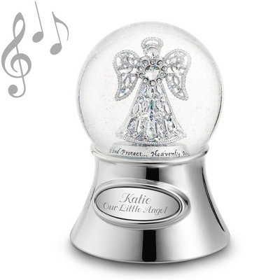 Personalized Jeweled Angel Snow Globe by Things Remembered