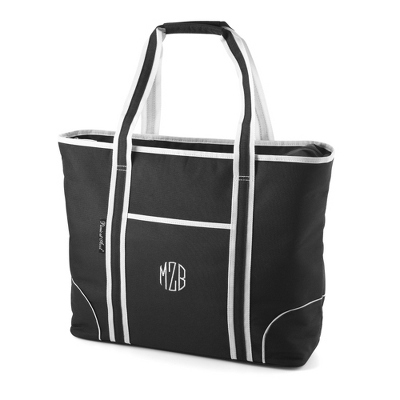 Black Insulated Tote