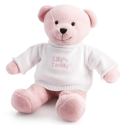 Pink Plush Teddy - UPC 825008280809