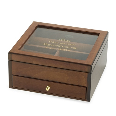 Glass Personalized Jewelry Boxes