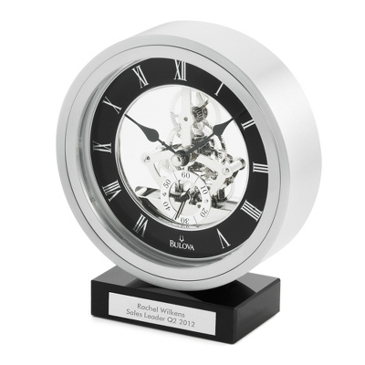 Bulova Omni Clock - Business Gifts For Him