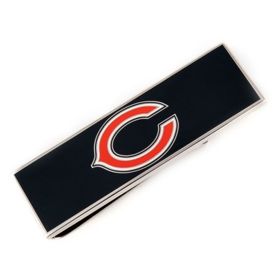 Chicago Bears Money Clip with complimentary Weave Texture Valet Box - $40.00