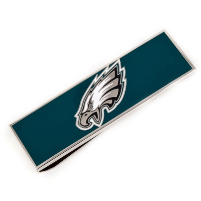 Philadelphia Eagles Money Clip with complimentary Tri Tone Valet Box - Men's Accessories