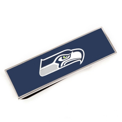 Seattle Seahawks Money Clip with complimentary Tri Tone Valet Box - $45.00