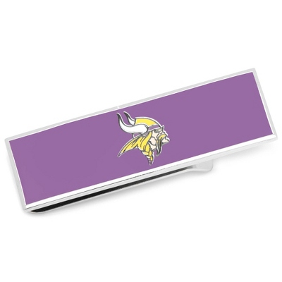 Minnesota Vikings Money Clip with complimentary Tri Tone Valet Box