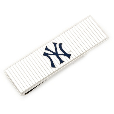 New York Yankees Money Clip with complimentary Tri Tone Valet Box - Men's Accessories