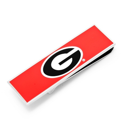 University of Georgia Money Clip with complimentary Tri Tone Valet Box - UPC 825008285149