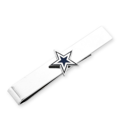 Dallas Cowboys Tie Bar with complimentary Weave Texture Valet Box