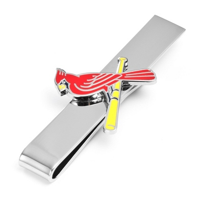 St. Louis Cardinals Tie Bar with complimentary Tri Tone Valet Box