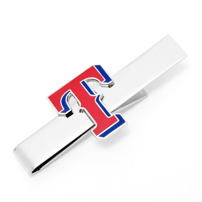 Texas Rangers Tie Bar with complimentary Tri Tone Valet Box