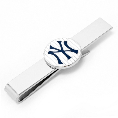 New York Yankees Tie Bar with complimentary Tri Tone Valet Box