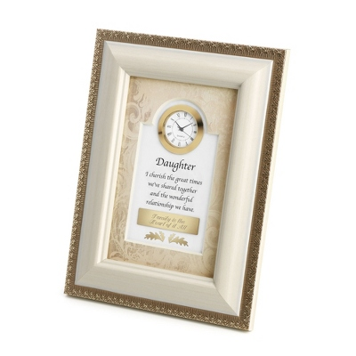 Daughter Frame Clock
