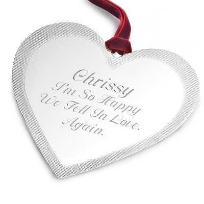 Classic Heart Ornament