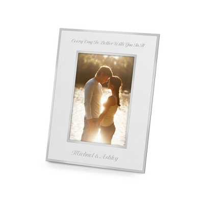 Personalized Silver Wedding Frame - 24 products