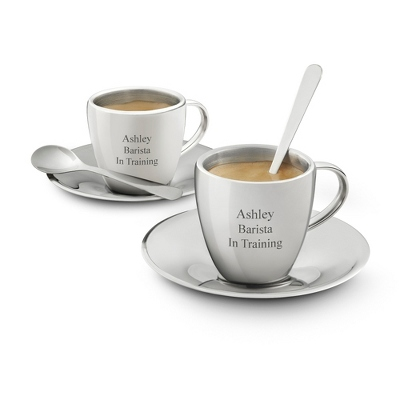 Stainless Steel Espresso Set