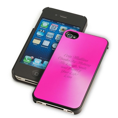 Pink iPhone 4 & 4S Case - UPC 825008286481