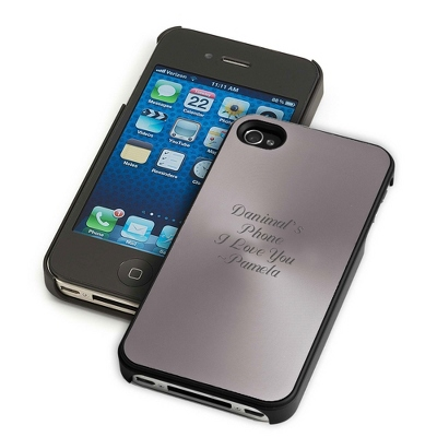 Gunmetal iPhone 4 & 4S Case - UPC 825008286504