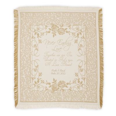 Never Ending Love Throw - Keepsakes