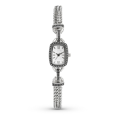 Expressions Chain Watch with complimentary Filigree Heart Box - $49.99