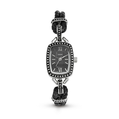 Expressions Leather Watch with complimentary Filigree Heart Box - $49.99