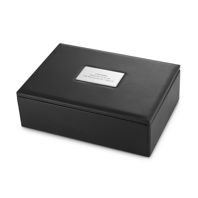Pebble Grain Watch Box - Men's Accessories