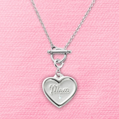 Charm Necklace for Grandma