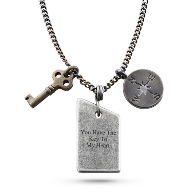 Engravable Pendants for Men