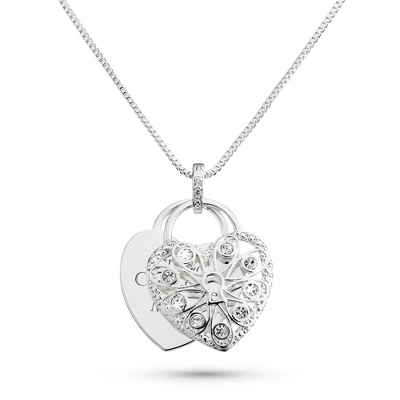 Pierced Heart Necklace with complimentary Filigree Heart Box