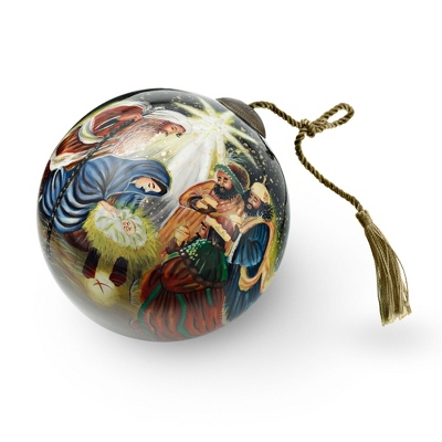 Hand Painted Three Kings Ornament