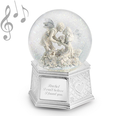 Love Angel Water Globe