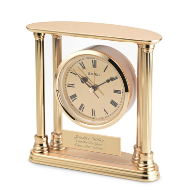 Engraved Alarm Clock