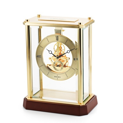 Seiko Skeleton Clock - UPC 29665129482