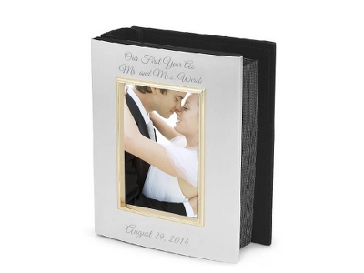 Personalized Cover Wedding Album