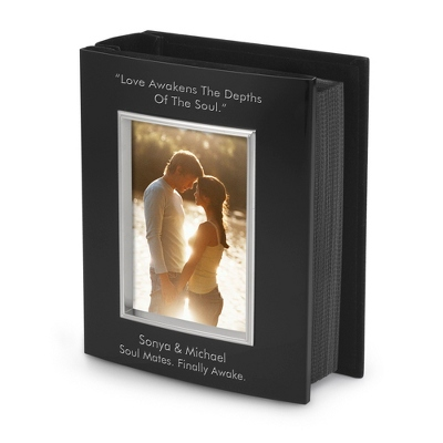 Classic Bevel Black 4x6 Album - Frames for the Graduate