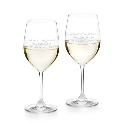 Riedel Vinum Voignier Chardonnay Set of 2 Glasses - Drinkware for Her